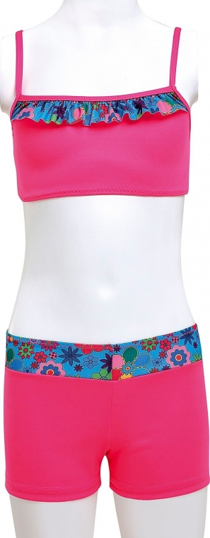 Şortlu Badili Garson Bikini