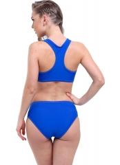Saks Büstiyerli Tüllü Bikini