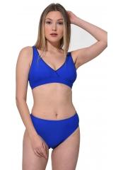 Saks Düz Kruvaze Bikini