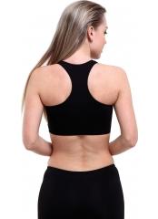 Siyah Modelli Şeritli Şortlu Yüzücü Bikini