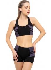 Modelli Şeritli Şortlu Yüzücü Bikini